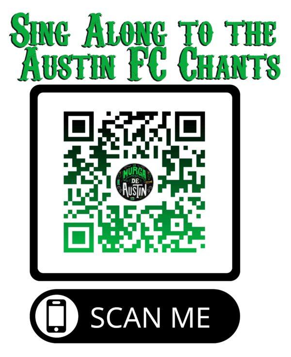 Austin FC chants